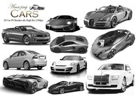 20 Amazing Cars PS Bürsten
