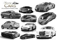 20 Amazing Cars PS Brushes
