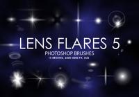 Free Lens Flares Photoshop Brushes 5
