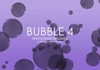 Gratis Bubble Photoshop Borstar 4