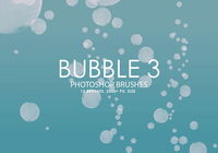 Brosses gratuites photoshop Bubble 3