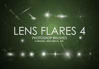 Free Lens Flares Photoshop Brushes 4