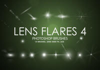 Gratis Lens Flares Photoshop Borstels 4