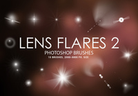 Free Lens Flares Photoshop Brushes 2