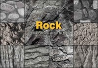 20 Rock Texture PS Borstels abr vol.5