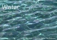 20 Fluss Wasser Textur PS Bürsten abr