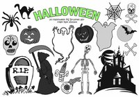 20 Halloween PS Brushes abr