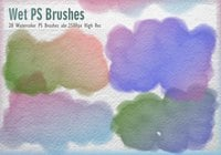 20 Acuarela PS Brushes abr.