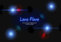 20 Lens Flares PS Brushes abr vol.5