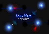 20 Lens Flares PS Borstels abr vol.5