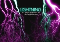 20 Lightning PS Brushes abr vol.4