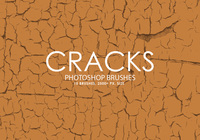 Pinceaux Cracks Photoshop gratuits
