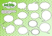 20 Speech Bubbles PS Brushes abr  vol 7
