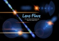 20 Lens Flares PS Brushes abr  vol.8