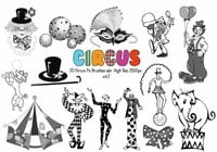 20 Circus Ps Brushes vol.2