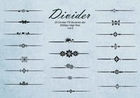 20 Divider Ps Brushes abr. vol.2