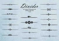 20 Divider Ps Borstels abr. vol.2