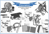 20 Education Ps Brushes abr. vol.1