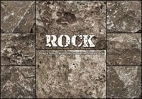 20 Rock Texture PS Borstels abr vol.8