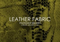 Gratis Leren Fabric Photoshop Borstels
