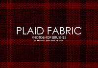 Gratis Plaid Fabric Photoshop Borstar