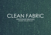 Free Clean Fabric Photoshop Bürsten 2