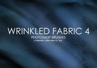 Free Wrinkled Fabric Photoshop Bürsten 4
