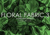 Floral Fabric Photoshop Brushes 3