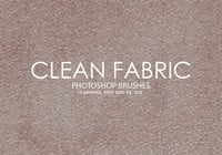 Free Clean Fabric Photoshop Brushes