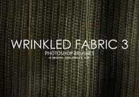 Free Wrinkled Fabric Photoshop Bürsten 3