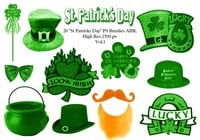 "20 ""St Patricks Day"" escovas PS abr.Vol.1"