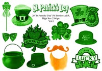 "20 ""St Patricks Day"" PS Brushes abr.Vol.1"