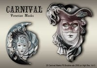 20 Carnaval Maskers PS Borstels abr.vol.3