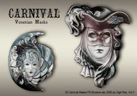 20 Carnival Masks PS Penslar abr.vol.3