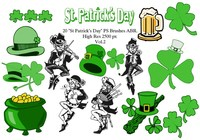 "20 ""St Patricks Day"" PS Brushes abr. Vol.2"