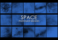 Free Space Photoshop Brushes