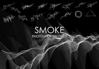 Free Abstract Smoke Pinceles de Photoshop 3