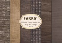 20 Fabric Texture Brushes.abr  Vol.3