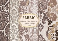 20 Damask Fabric Brushes.abr  Vol.2