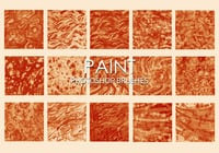 Gratis Dirty Paint Pinceles para Photoshop 4