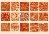 Free Dirty Paint Photoshop Brushes 4