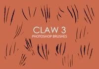 Free claw photoshop bürsten 3
