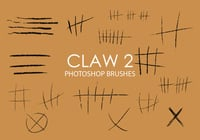 Claw Photoshop Brushes 2 gratis