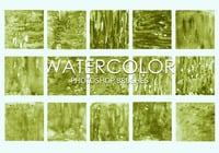 Escovas gratuitas do photoshop de aquarela 3