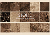 Gratis Stone Photoshop Brushes 6
