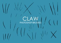 Free Claw Photoshop Brushes