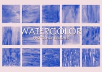 Free Watercolor Photoshop Bürsten 2