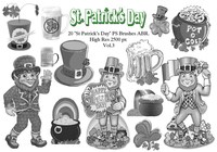 "20 ""St Patricks Day"" PS-borstar abr.Vol.3"