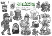 "20 ""St. Patricks Day"" PS Bürsten abr.Vol.3"