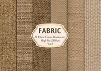 20 Fabric Texture Brushes.abr  Vol.4